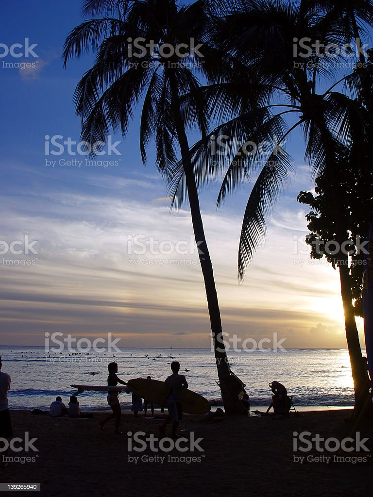 Beach Paradise royalty-free stock photo