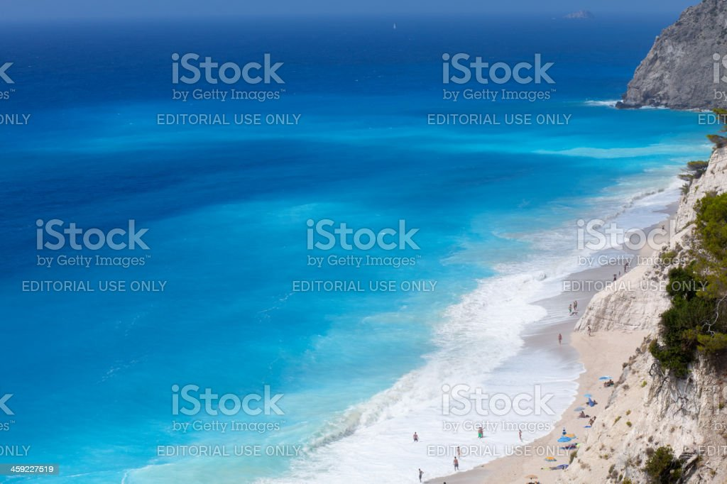 Beach paradise royalty-free stock photo