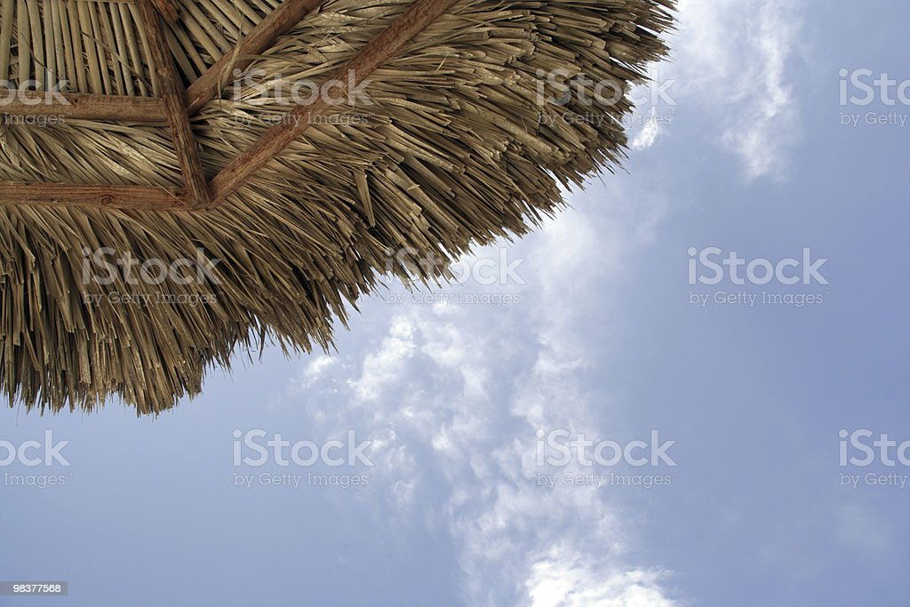 Beach Parasol royalty-free stock photo