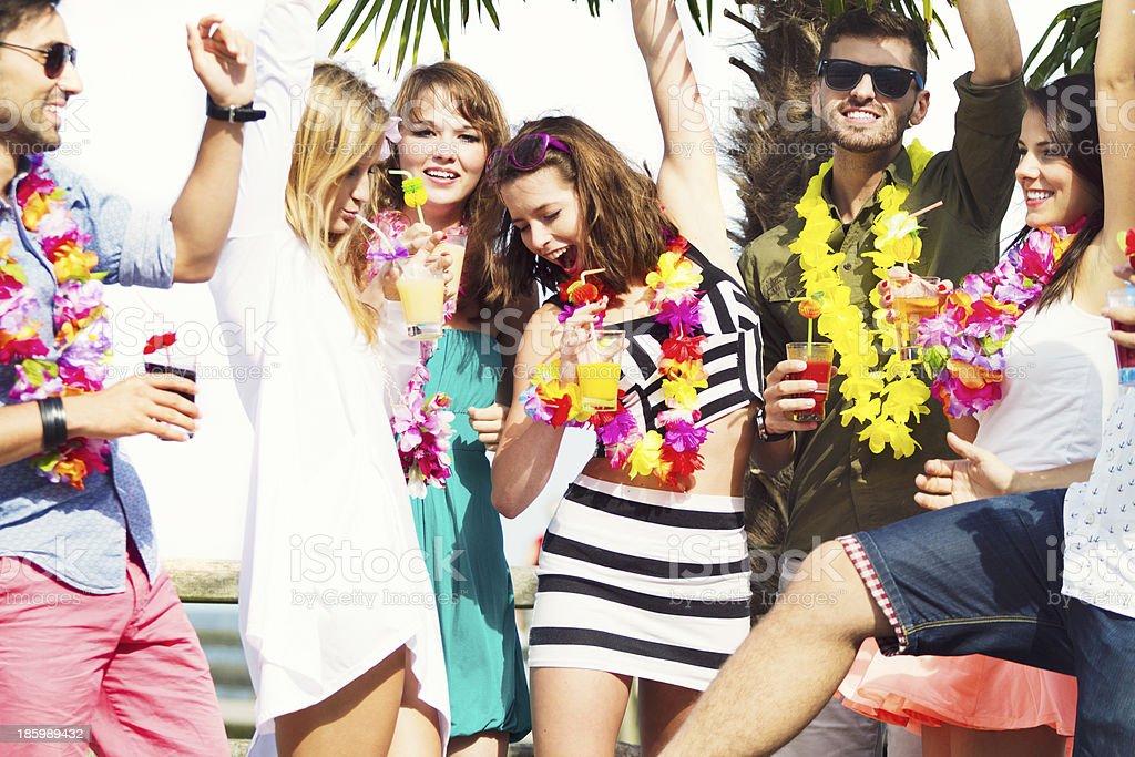 Impreza na plaży – zdjęcie