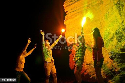 471113366istockphoto Beach party 617383896