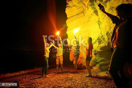 471113366istockphoto Beach party 617747470