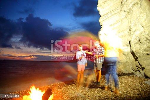 471113366istockphoto Beach party 617762954