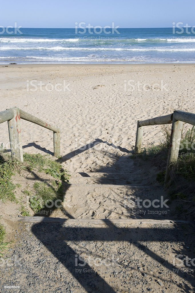 Beach Path royalty-free stock photo
