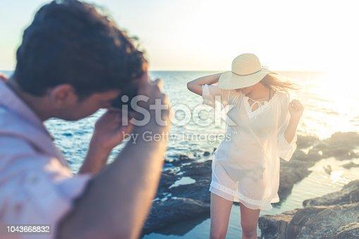 Beach photo shooting