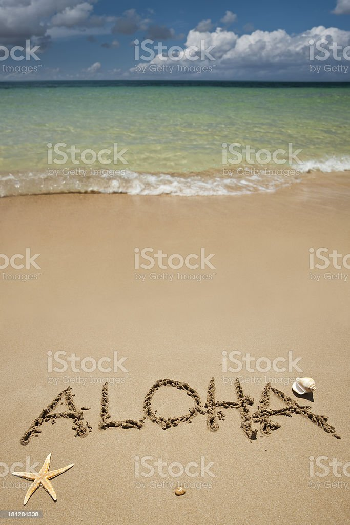 La playa - foto de stock