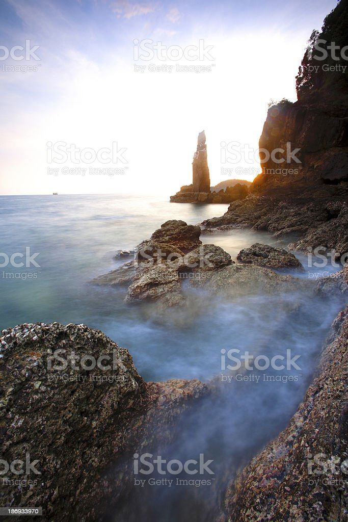 Beach royalty-free stock photo