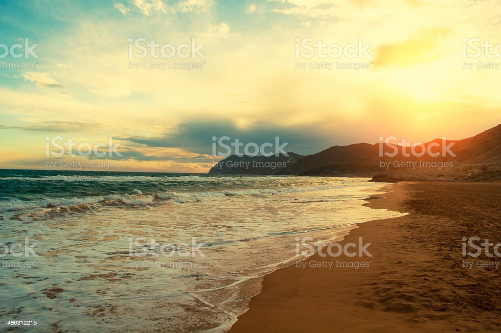 Beach. stock photo