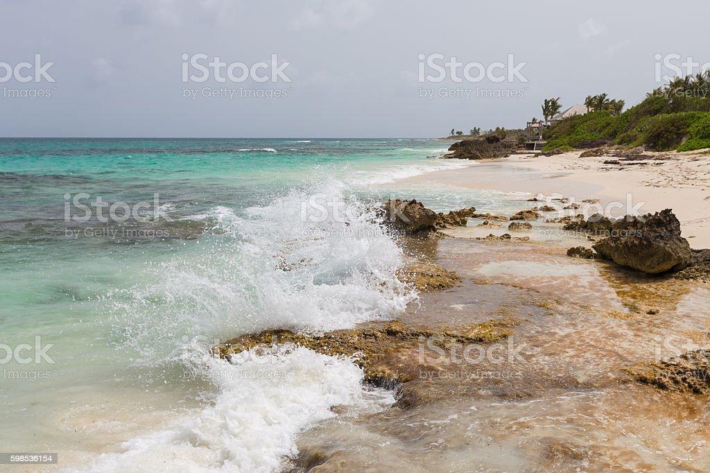 La plage  photo libre de droits