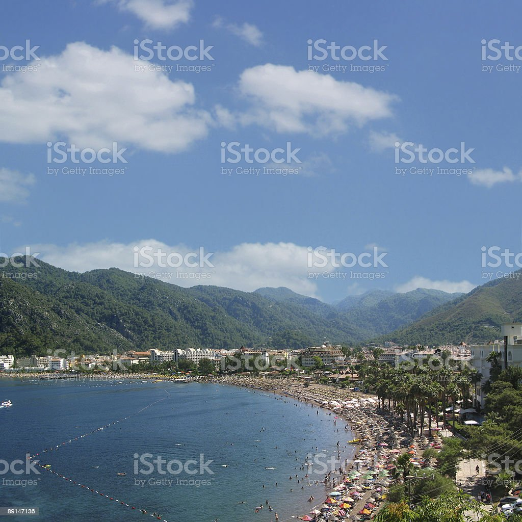 Beach (Ver.2) royalty-free stock photo