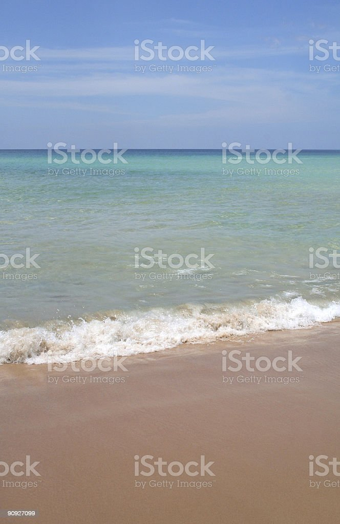 Beach (series) royalty-free stock photo