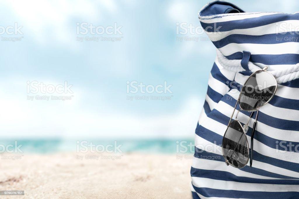 Beach. stock photo
