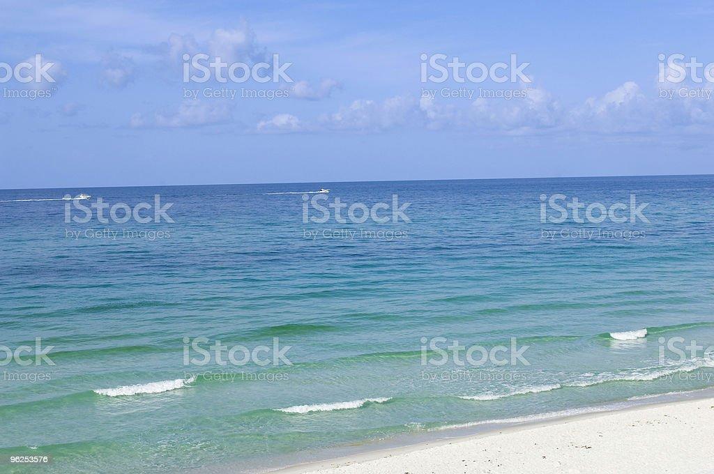 A praia - Foto de stock de Areia royalty-free