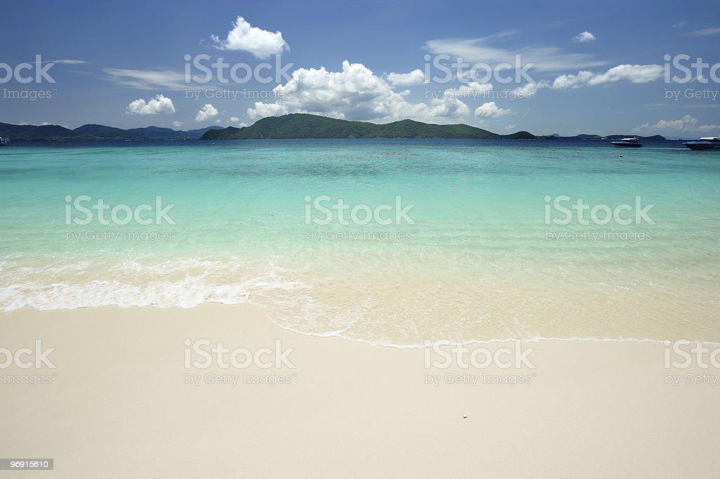 Beach royalty-free stock photo