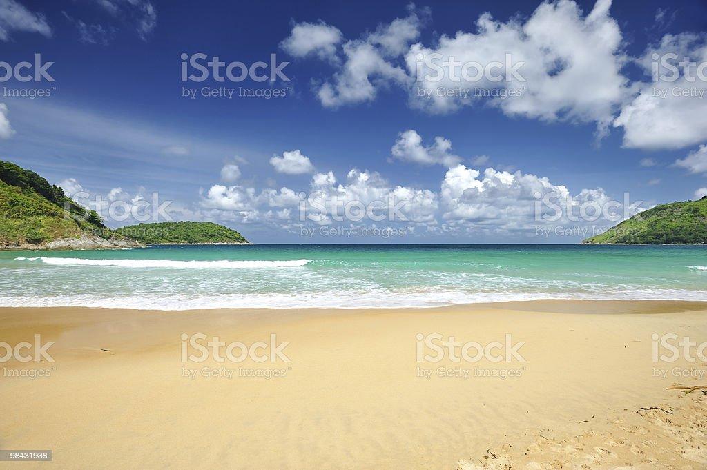 La spiaggia foto stock royalty-free