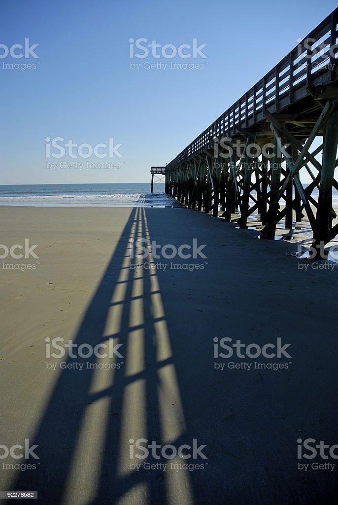Beach Pier royalty-free stock photo