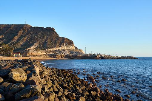 "Beach ""Playa de Tauro"" on Grand Canary Island"