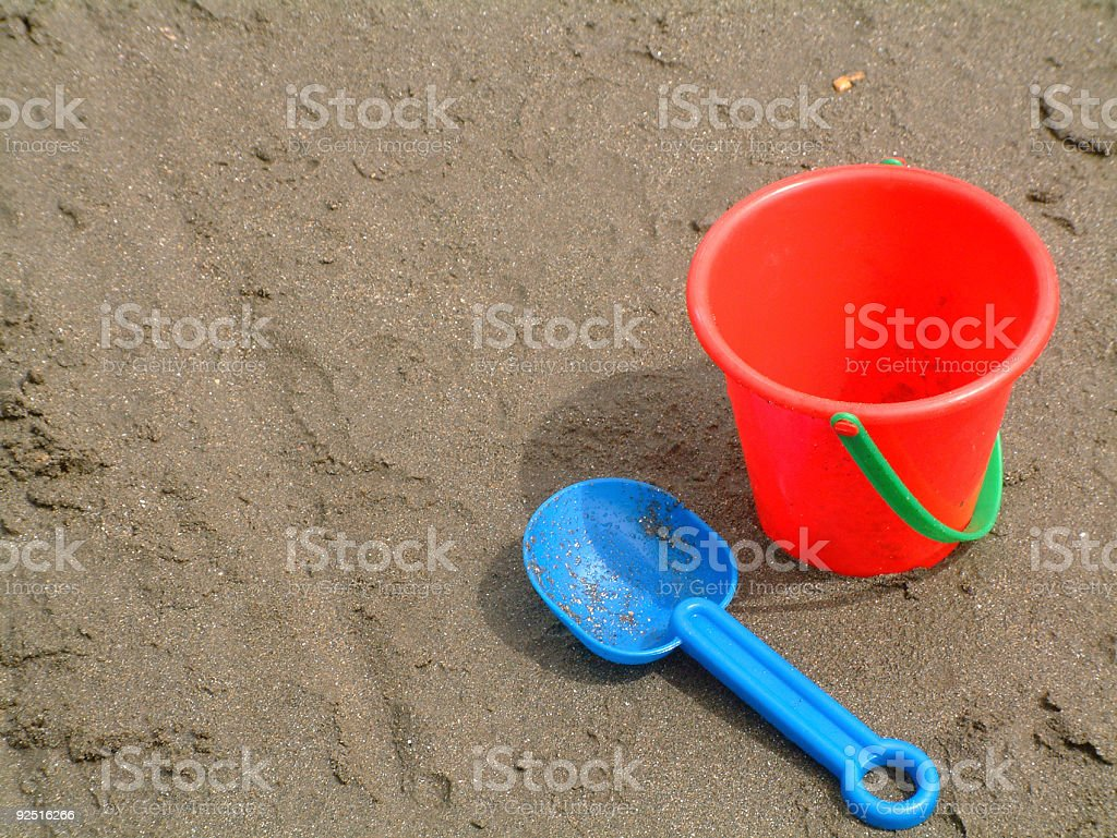 Beach Playing royalty-free stock photo