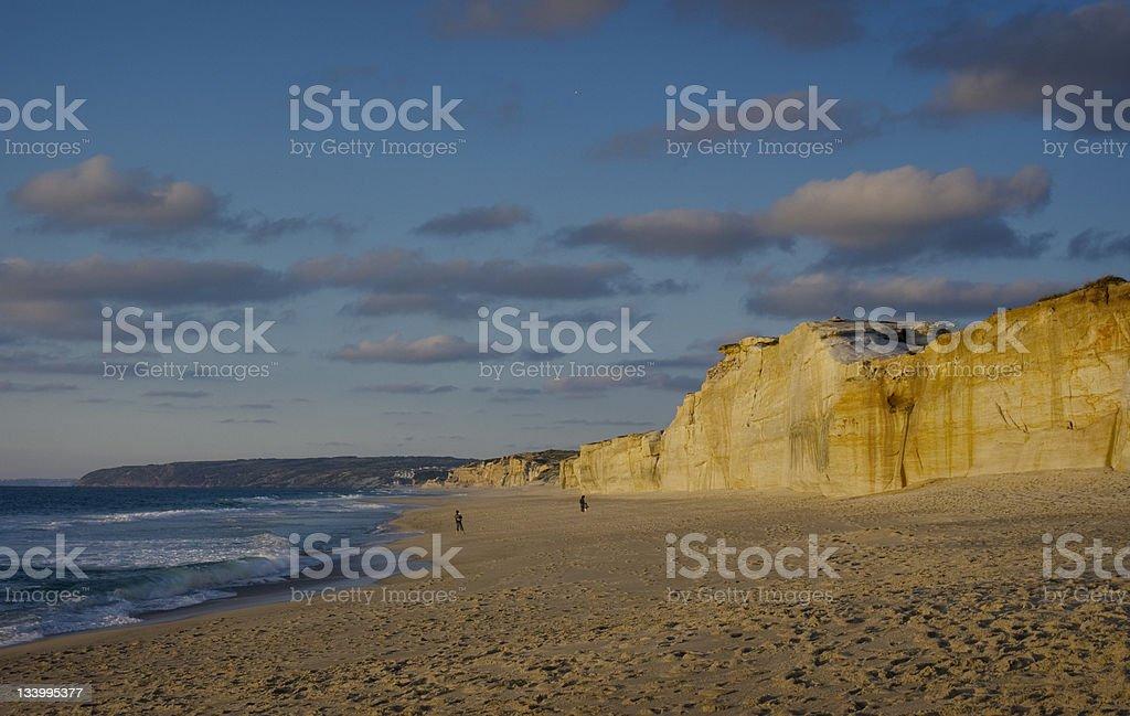 Beach Portugal royalty-free stock photo