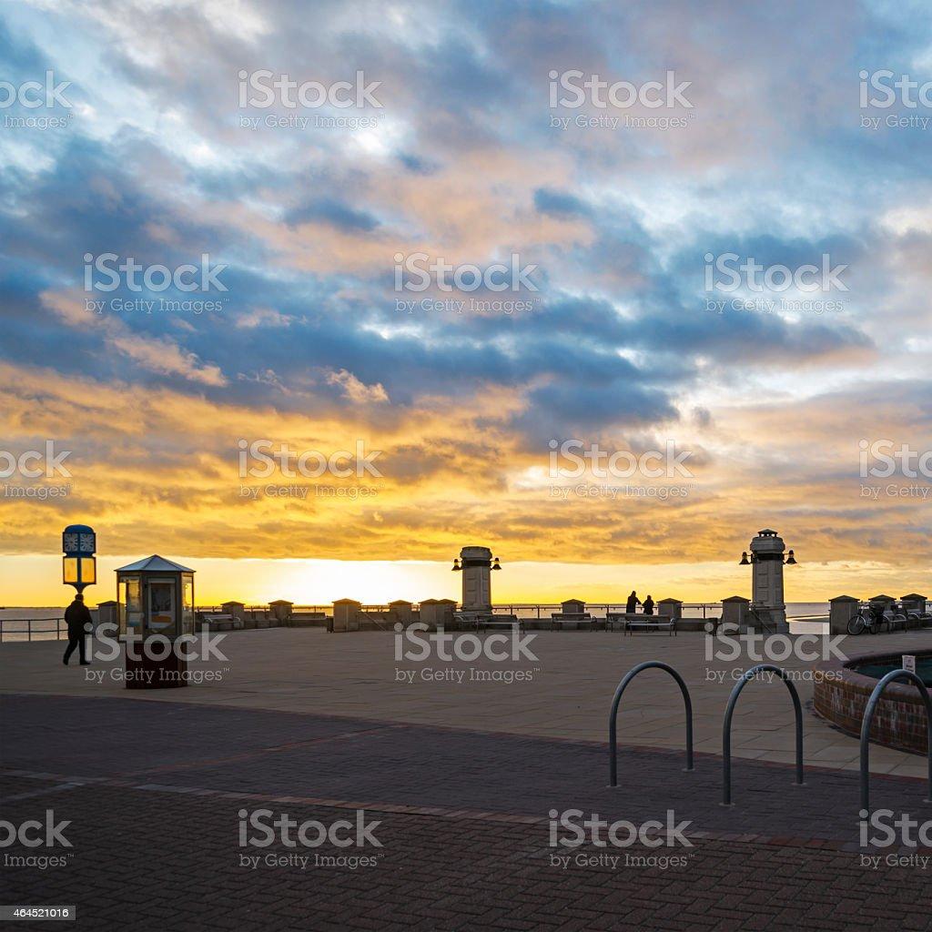 Strandpromenade von Borkum – Foto