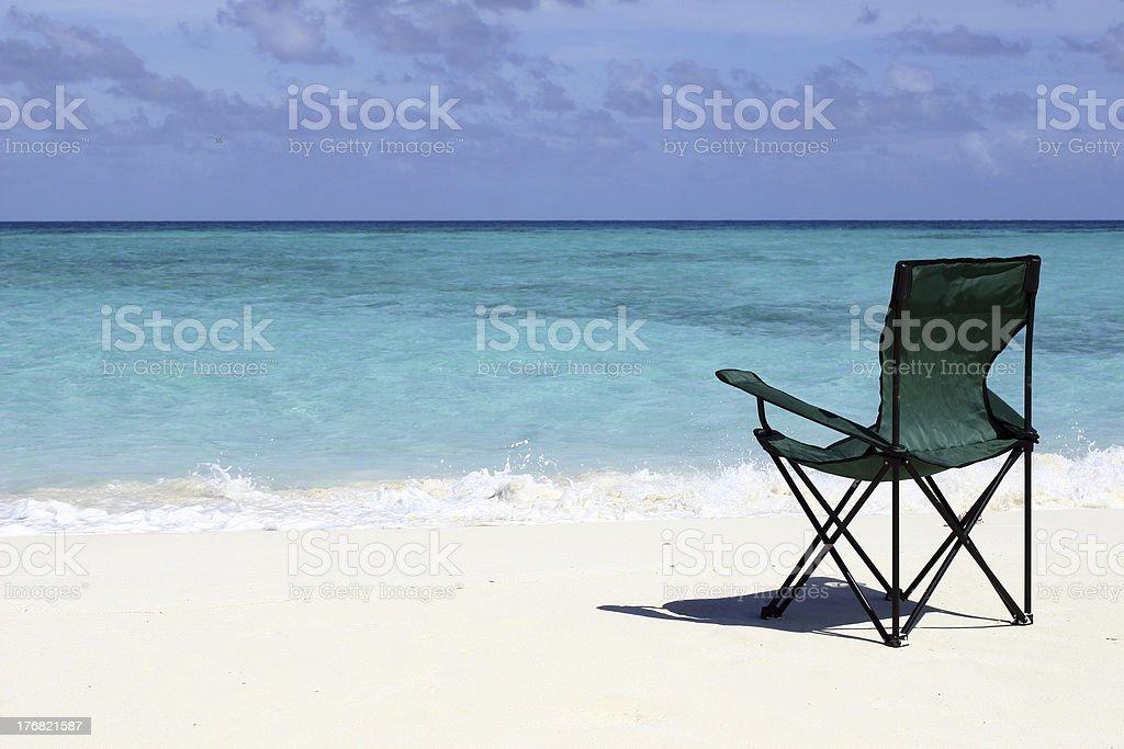 Beach Relaxing stock photo