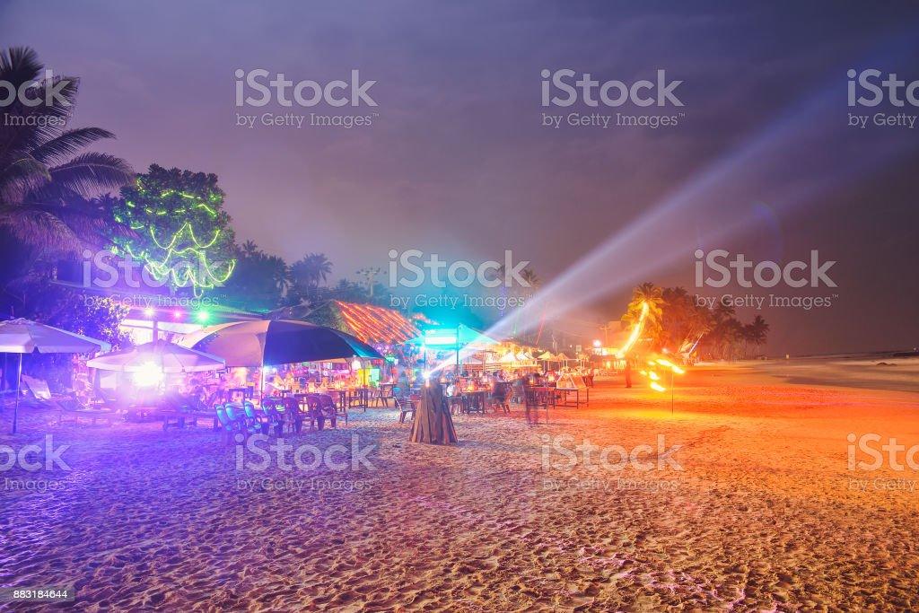 beach restaurants stock photo