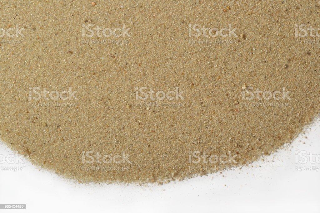 Plage de sable blanc - Photo de Abstrait libre de droits