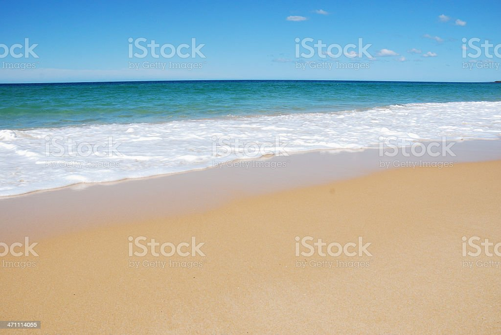 Beach, Sand with Copy space royalty-free stock photo