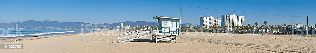 Beach, Santa Monica, Venice, LA royalty-free stock photo