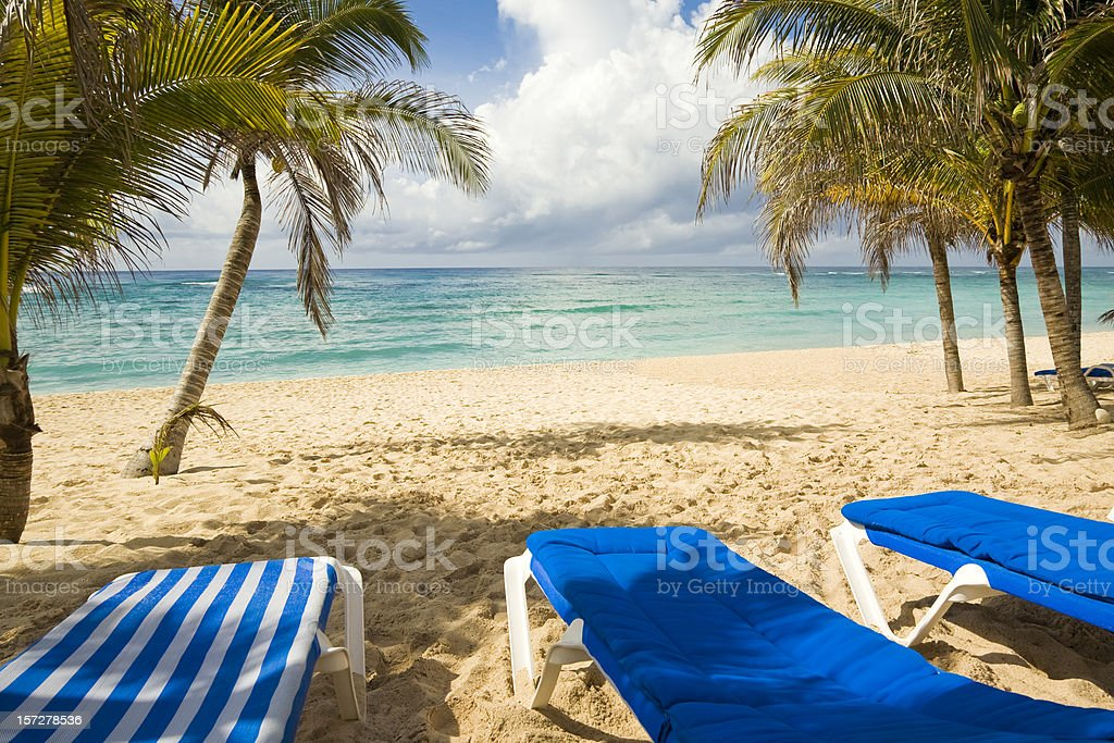 Beach Scene royalty-free stock photo