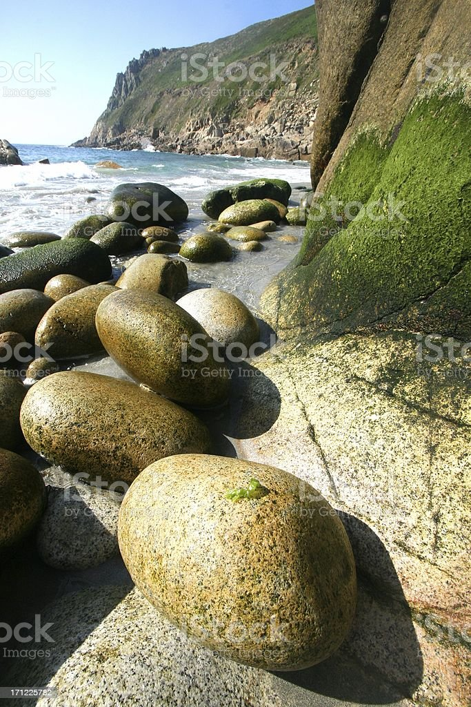 A Beach Scene royalty-free stock photo