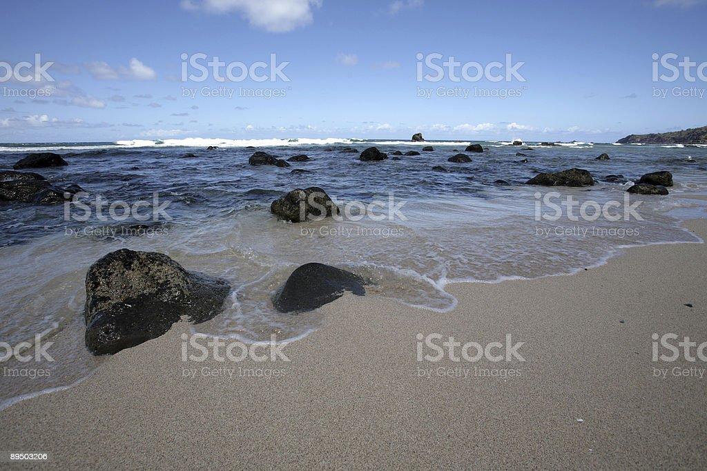 Beach Scene royaltyfri bildbanksbilder