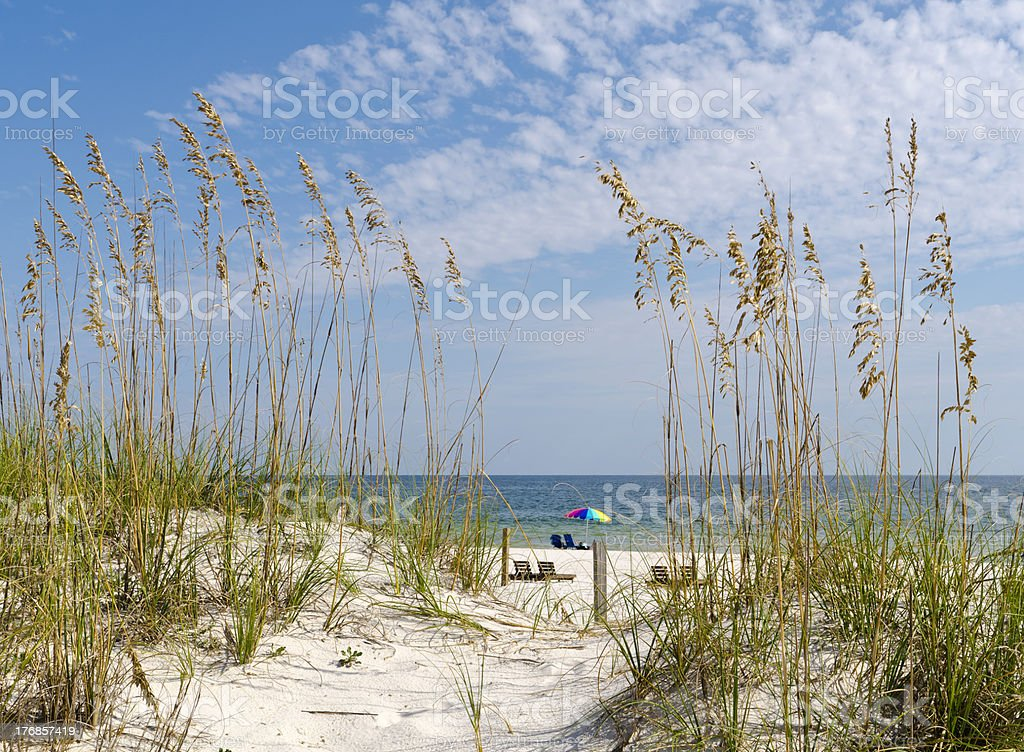 Beach Scenery stock photo