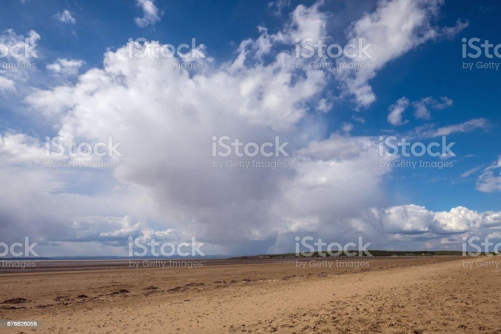 Somerset plaj sahneleri royalty-free stock photo