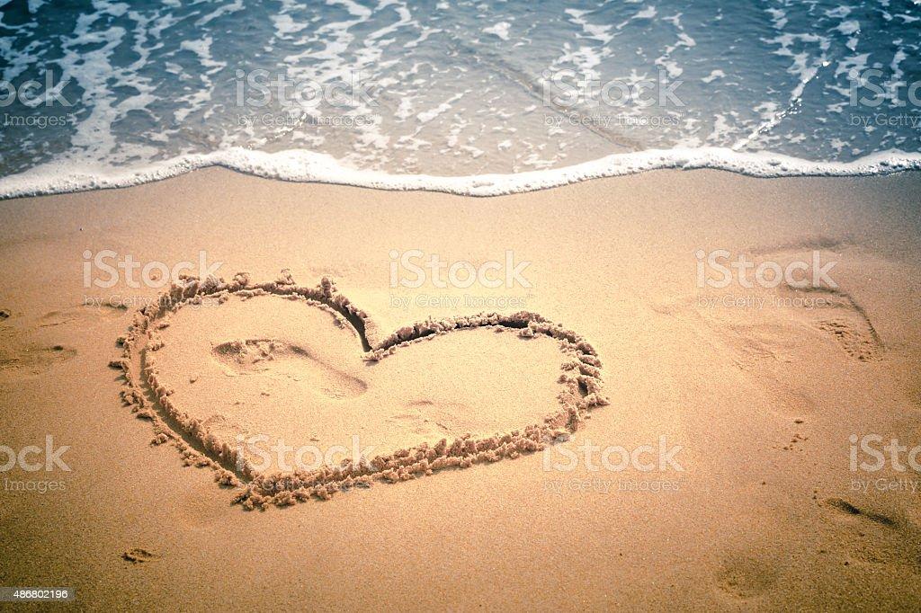 Beach scenes stock photo