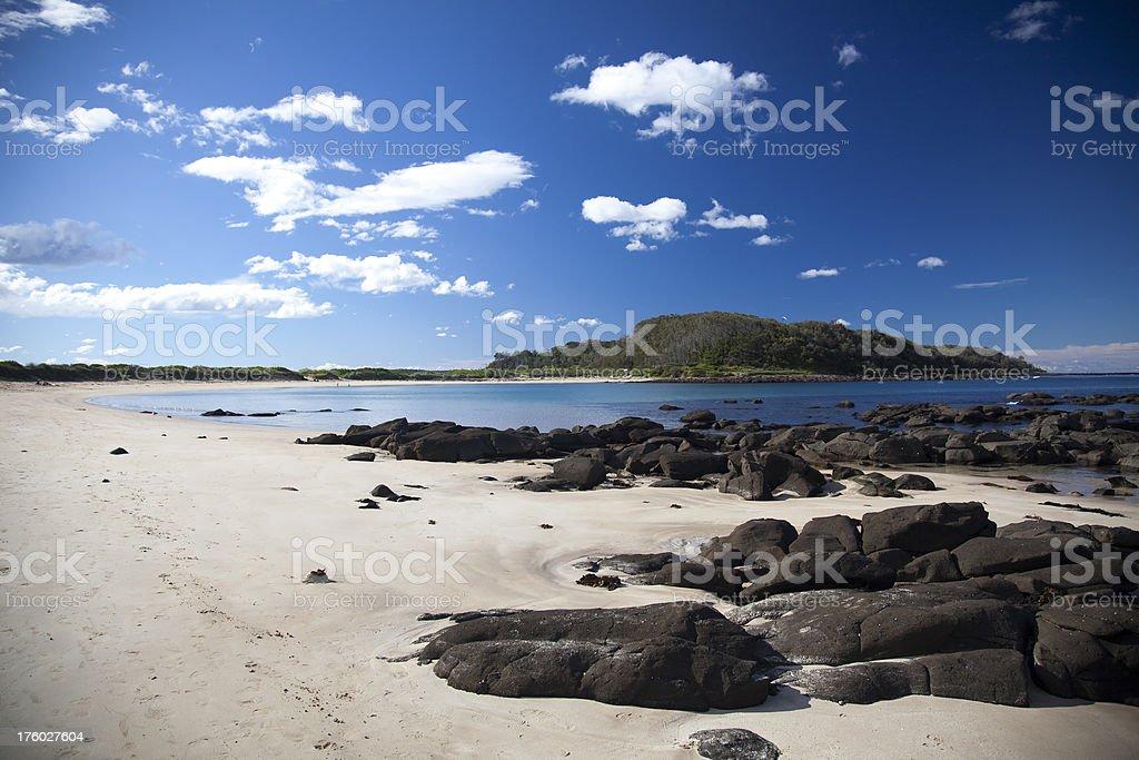 beach scenic, Batemans Bay royalty-free stock photo