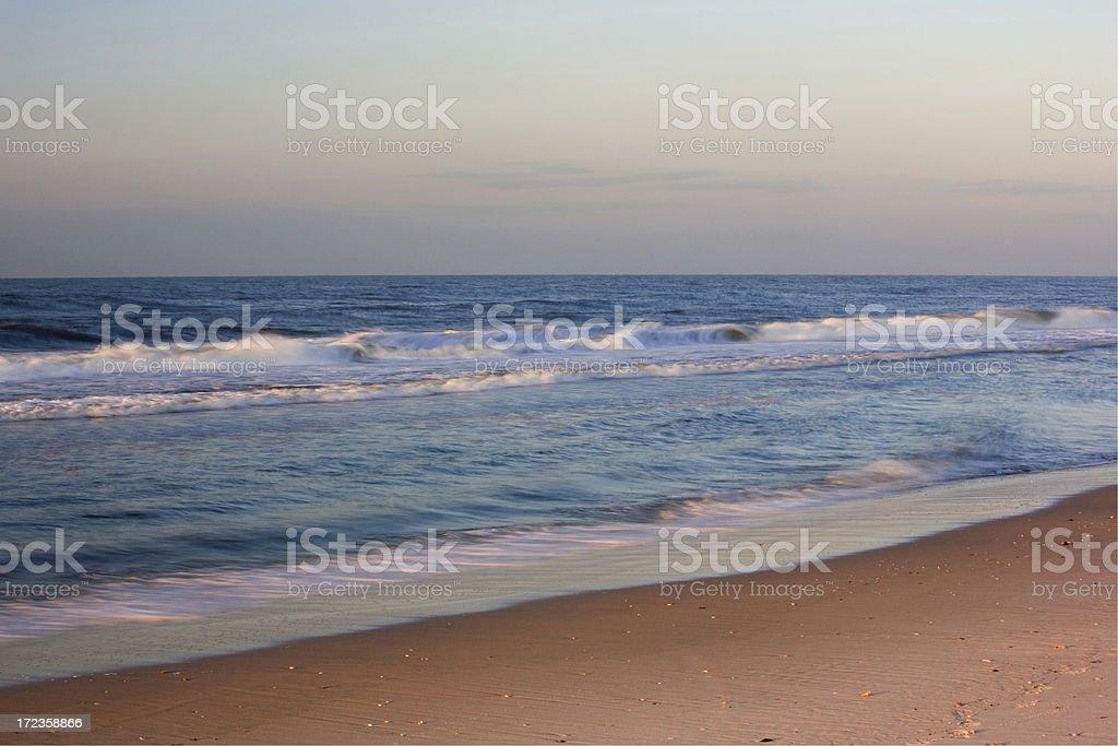 Beach, Sea and Sky royalty-free stock photo