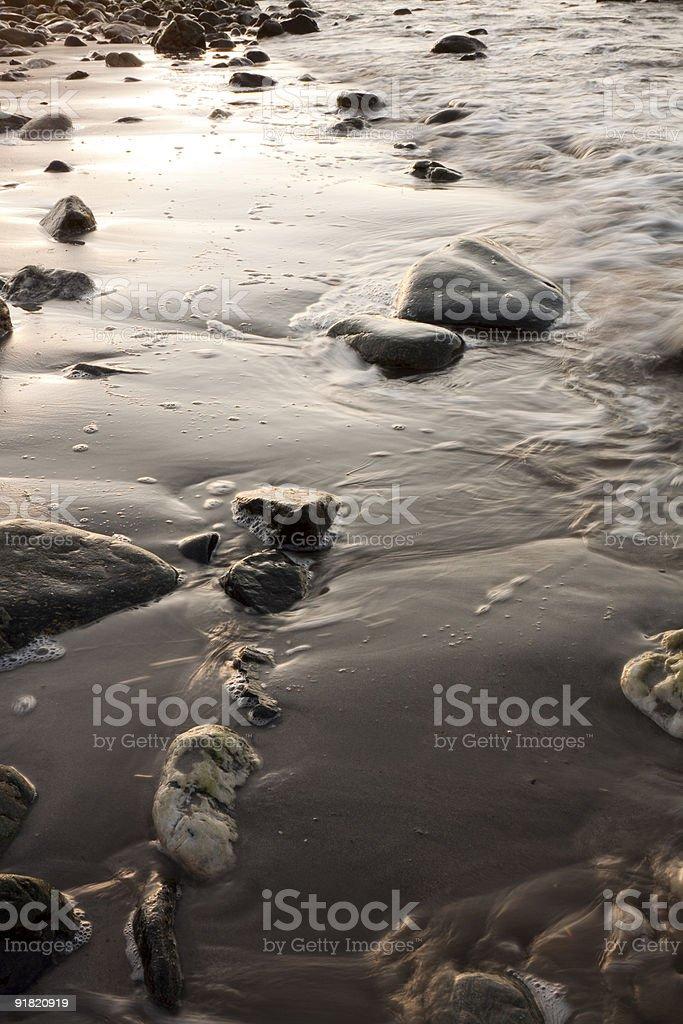 Beach Seascape royalty-free stock photo