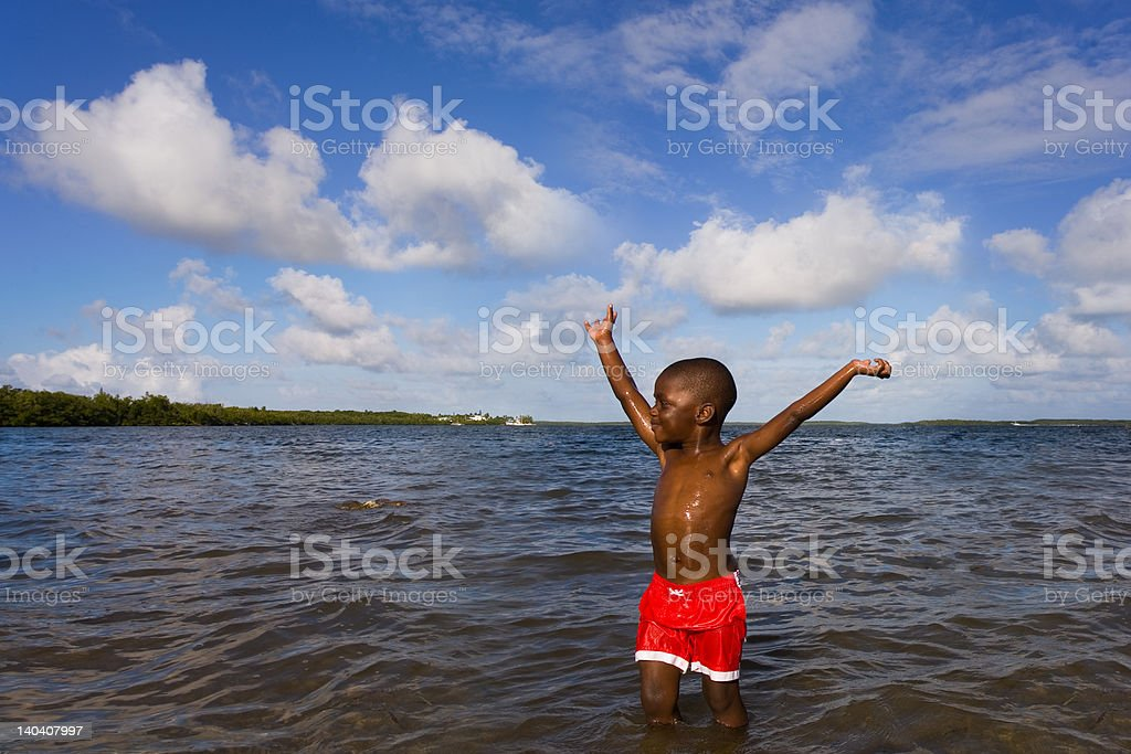 Beach Series - Diversity stock photo