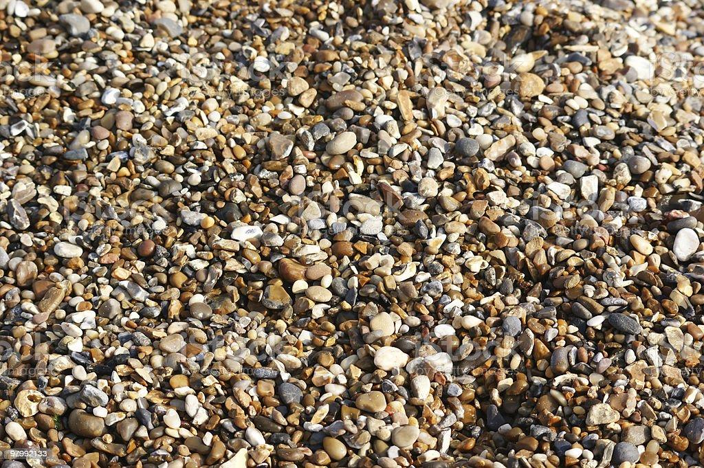 Beach Shingle royalty-free stock photo