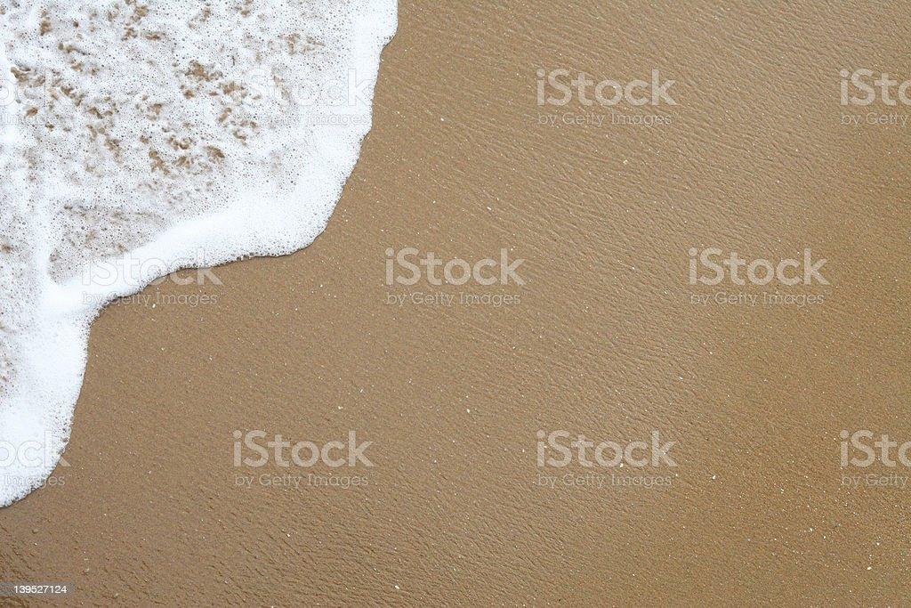 Beach Shoreline royalty-free stock photo