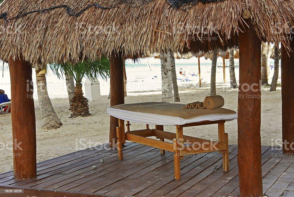 Beach Spa royalty-free stock photo
