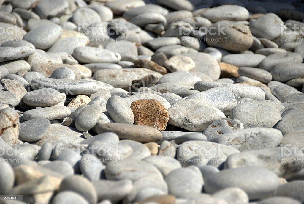 Beach stones royalty-free stock photo
