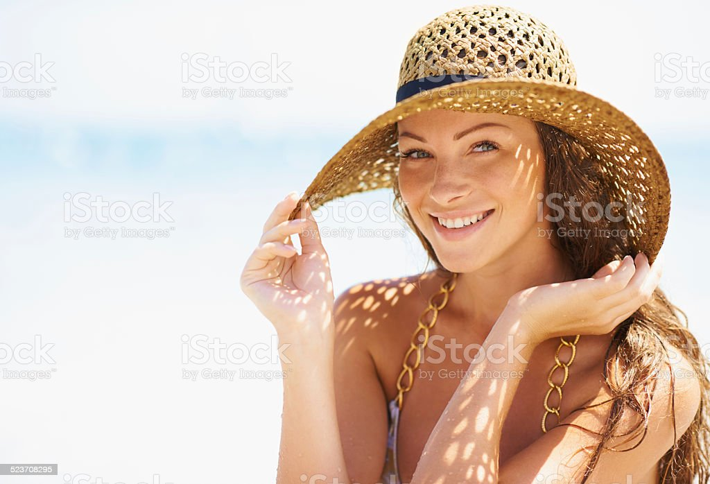 Beach style stock photo