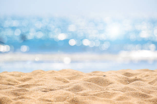 beach summer background - beach stock pictures, royalty-free photos & images