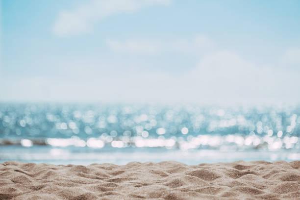 Sommerhintergrund am Strand – Foto