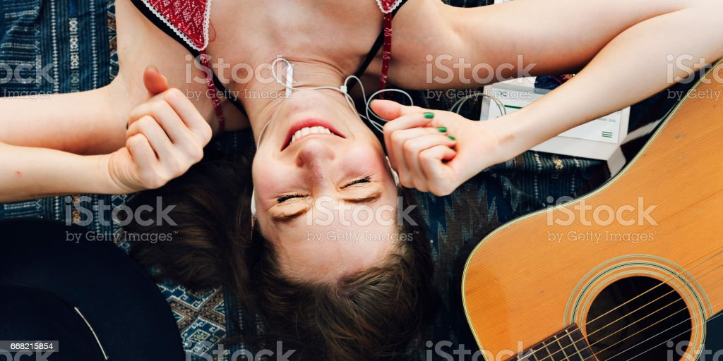 Beach Summer Holiday Vacation Traveling Relaxation Concept stock photo