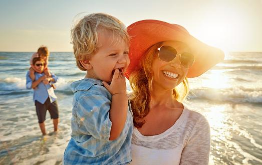 Beach + sun + fun = summer