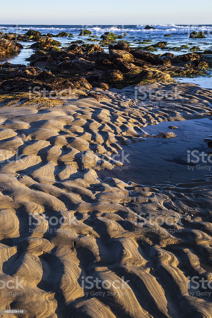 beach sunset landscape royalty-free stock photo