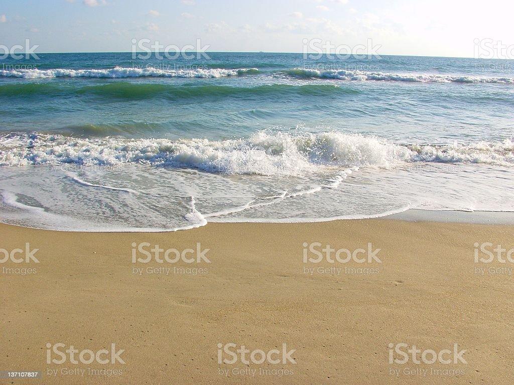 Beach Surf - Jensen 353 stock photo